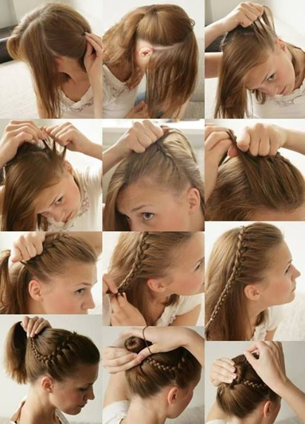 Peachy Easy Hairstyles For Long Straight Hair To Do Yourself Short Hair Short Hairstyles Gunalazisus