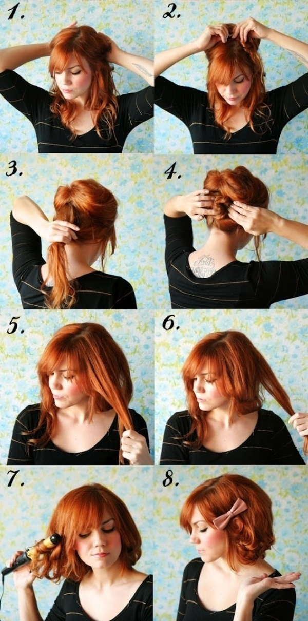 Surprising 101 Easy Diy Hairstyles For Medium And Long Hair To Snatch Attention Hairstyles For Men Maxibearus
