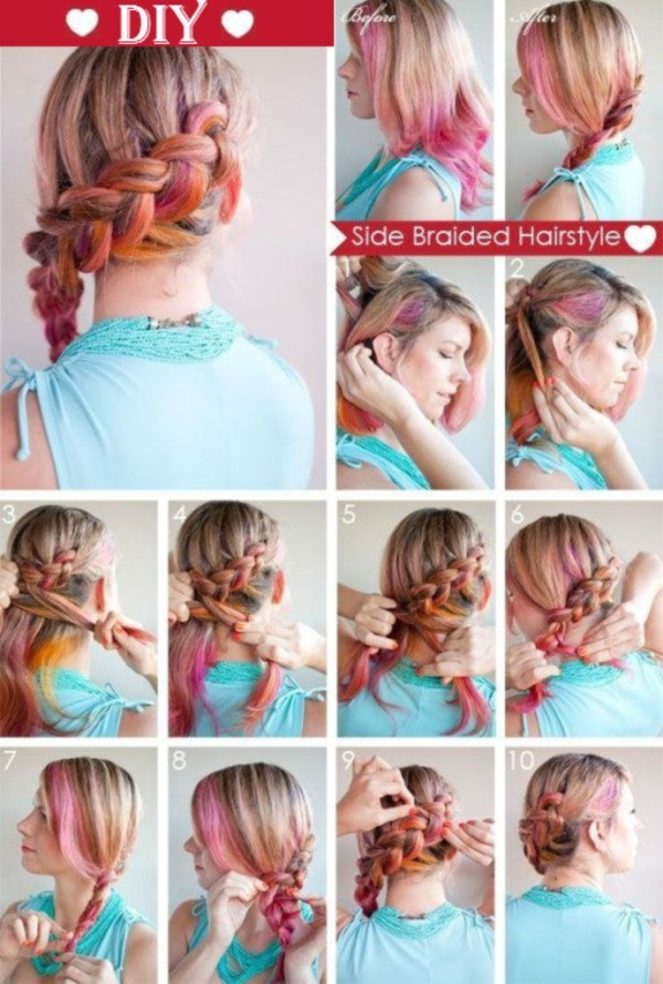 101 easy diy hairstyles for medium and long hair to snatch attention easy diy hairstyles for medium and long hair1 14 solutioingenieria Images