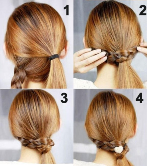 Groovy 101 Easy Diy Hairstyles For Medium And Long Hair To Snatch Attention Short Hairstyles Gunalazisus