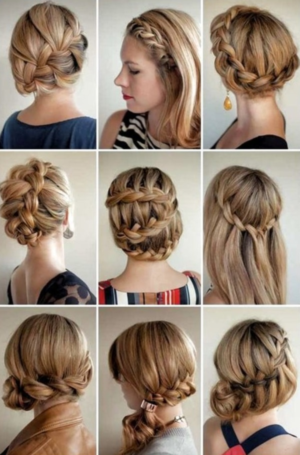 Remarkable 101 Easy Diy Hairstyles For Medium And Long Hair To Snatch Attention Short Hairstyles For Black Women Fulllsitofus