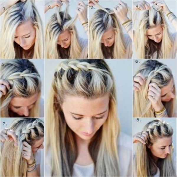 Terrific Easy Braided Hairstyles To Do On Yourself Braids Hairstyle Inspiration Daily Dogsangcom