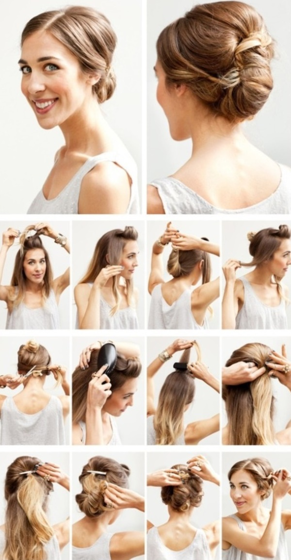 101 easy diy hairstyles for medium and long hair to snatch attention easy diy hairstyles for medium and long hair1 38 solutioingenieria Gallery