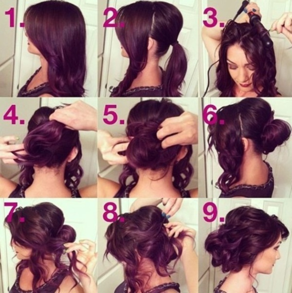 Miraculous 101 Easy Diy Hairstyles For Medium And Long Hair To Snatch Attention Short Hairstyles Gunalazisus