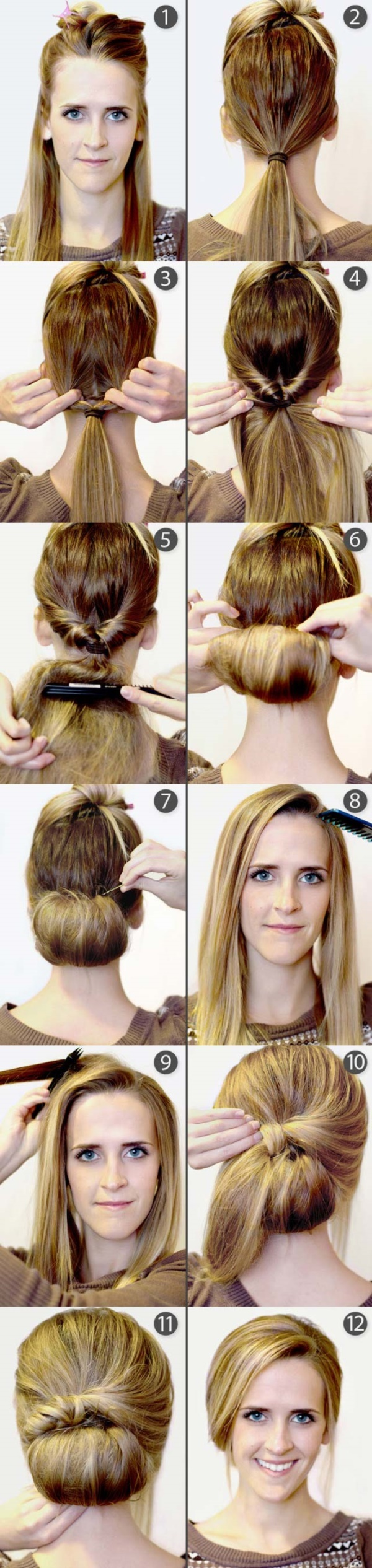 Miraculous 101 Easy Diy Hairstyles For Medium And Long Hair To Snatch Attention Hairstyles For Women Draintrainus