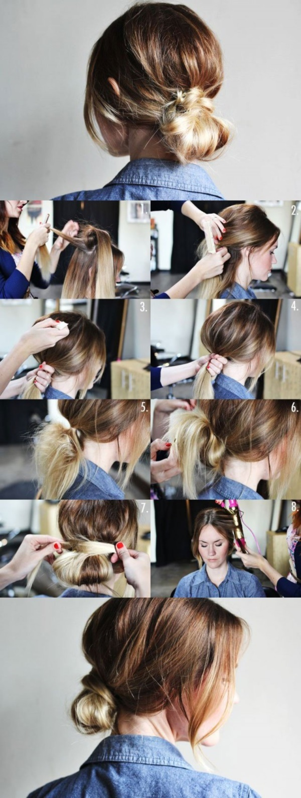 Excellent 101 Easy Diy Hairstyles For Medium And Long Hair To Snatch Attention Short Hairstyles For Black Women Fulllsitofus