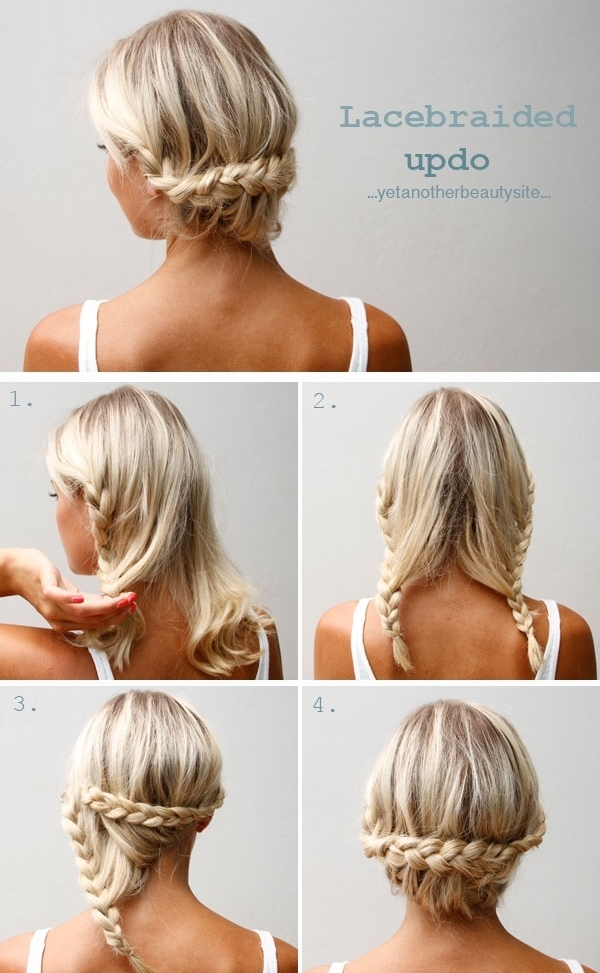 Beautiful DIY Wedding Hairstyles For Medium Length Hair