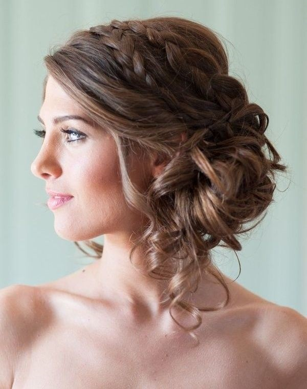 Pleasant 101 Romantic Braided Hairstyles For Long Hair And Medium Hair Hairstyle Inspiration Daily Dogsangcom