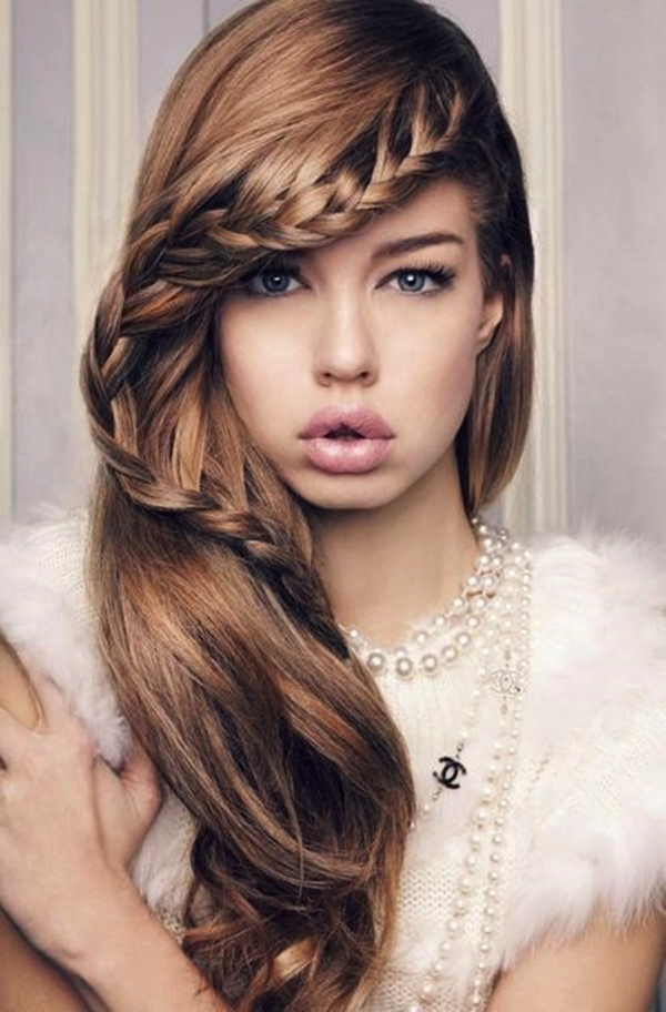 Tremendous 101 Romantic Braided Hairstyles For Long Hair And Medium Hair Short Hairstyles For Black Women Fulllsitofus