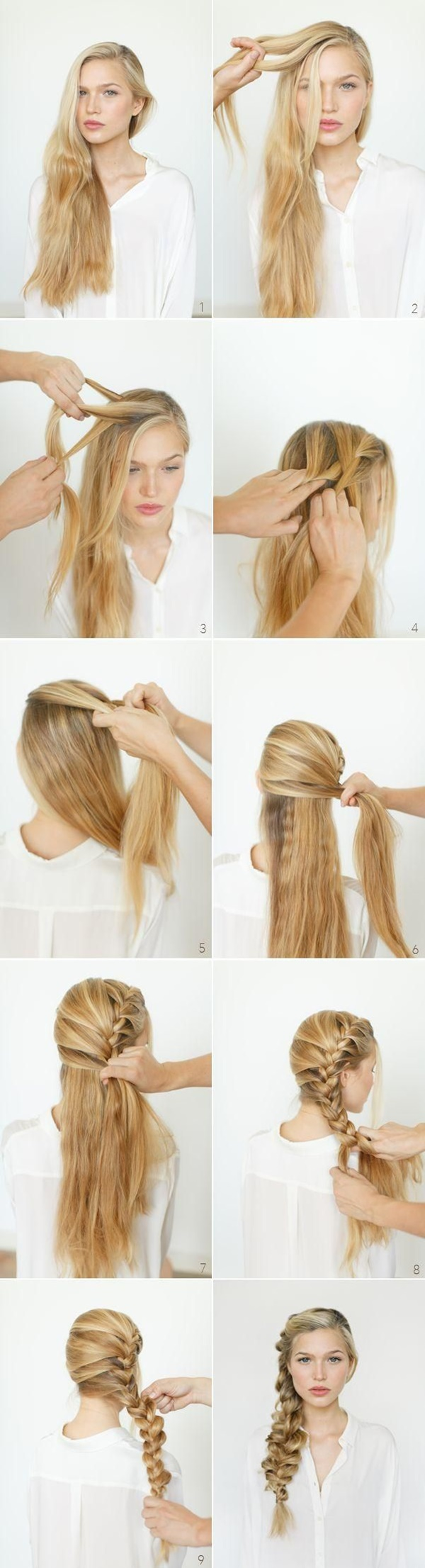 11 Romantic Braided Hairstyles for Long Hair and Medium Hair