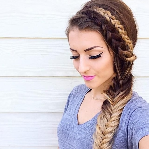 Remarkable 101 Romantic Braided Hairstyles For Long Hair And Medium Hair Hairstyle Inspiration Daily Dogsangcom