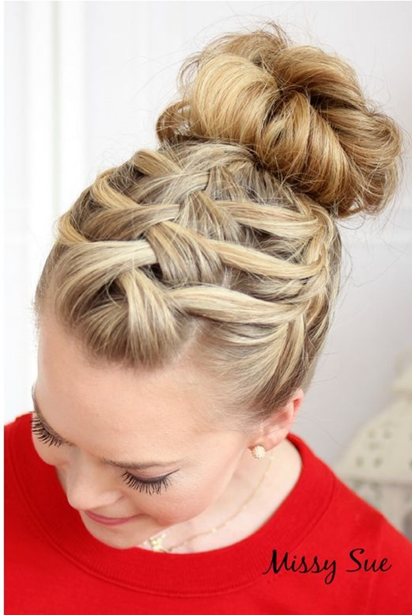 Tremendous 101 Romantic Braided Hairstyles For Long Hair And Medium Hair Hairstyle Inspiration Daily Dogsangcom
