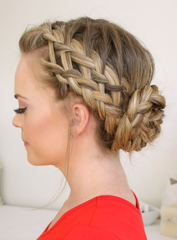 Braid Hair Style Fascinating 101 Romantic Braided Hairstyles For Long Hair And Medium Hair