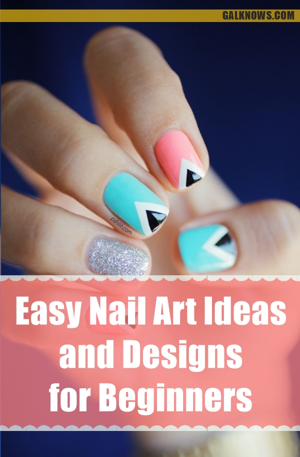 101 easy nail art ideas and designs for beginners easy nail art ideas and designs for beginners 11 prinsesfo Choice Image