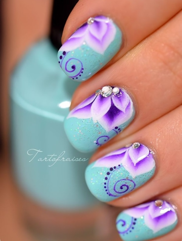 Easy Nail Art Ideas and Designs for Beginners (10) - 101 Easy Nail Art Ideas And Designs For Beginners