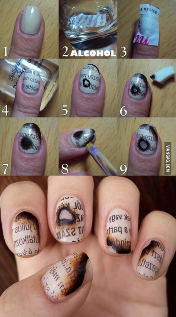 Easy Nail Art Ideas and Designs for Beginners (15)