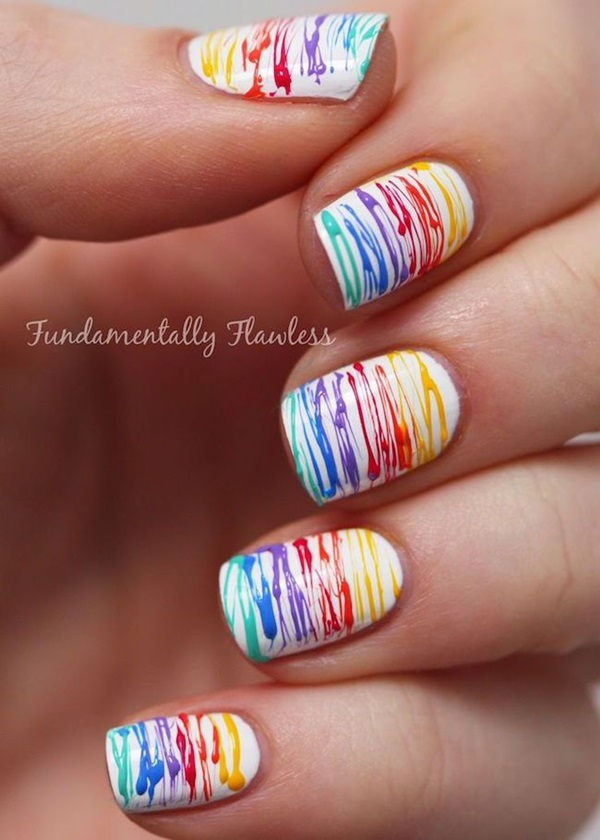 Easy Nail Art Ideas and Designs for Beginners (16)