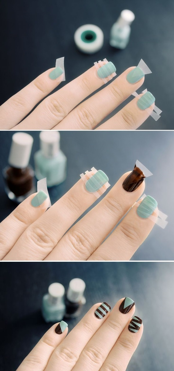 Easy Nail Art Ideas and Designs for Beginners (22)