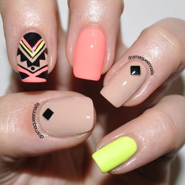 Easy Nail Art Ideas and Designs for Beginners (2)