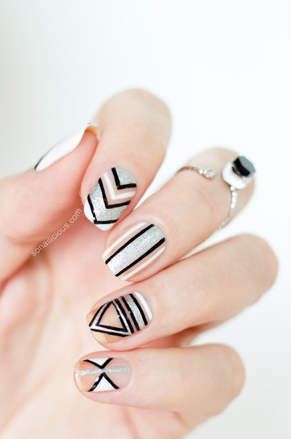 Easy Nail Art Ideas and Designs for Beginners (3)