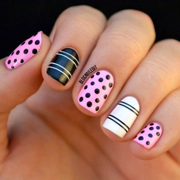 easy nail art ideas and designs for beginners 6 - Nail Art Designs Ideas