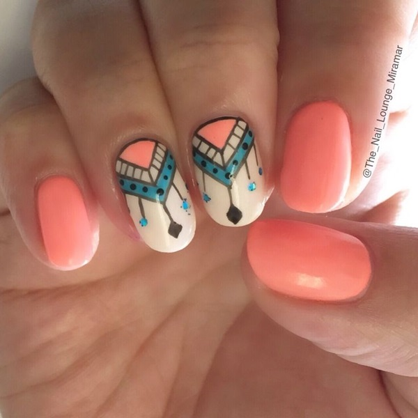 74b48af90 Easy Nail Art Ideas and Designs for Beginners (8)