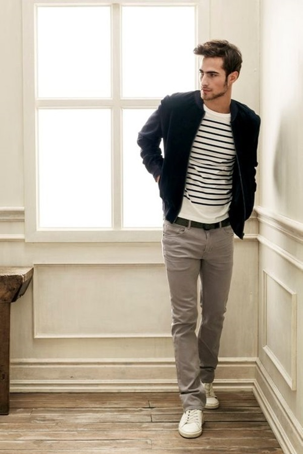101 hot mens fashion style outfits ideas to impress your girl for White shirt outfit mens