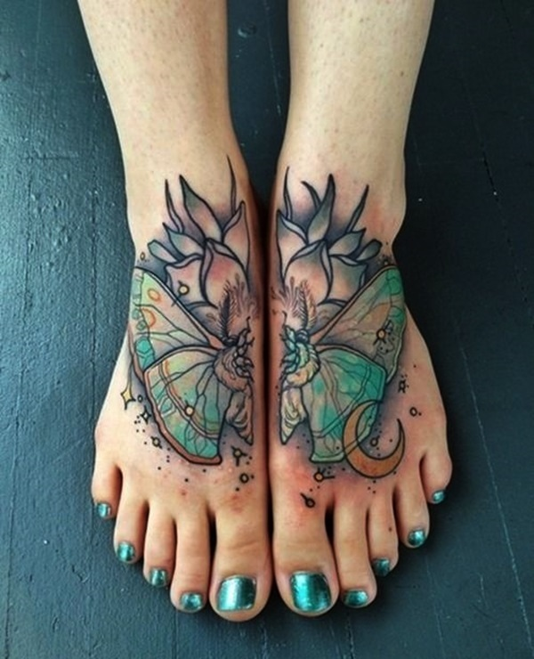 Best Foot Tattoo Designs and Ideas (1)