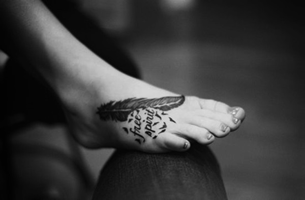 Best Foot Tattoo Designs and Ideas (11)