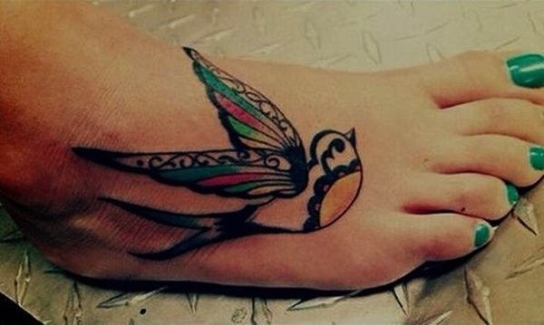 Best Foot Tattoo Designs and Ideas (12)