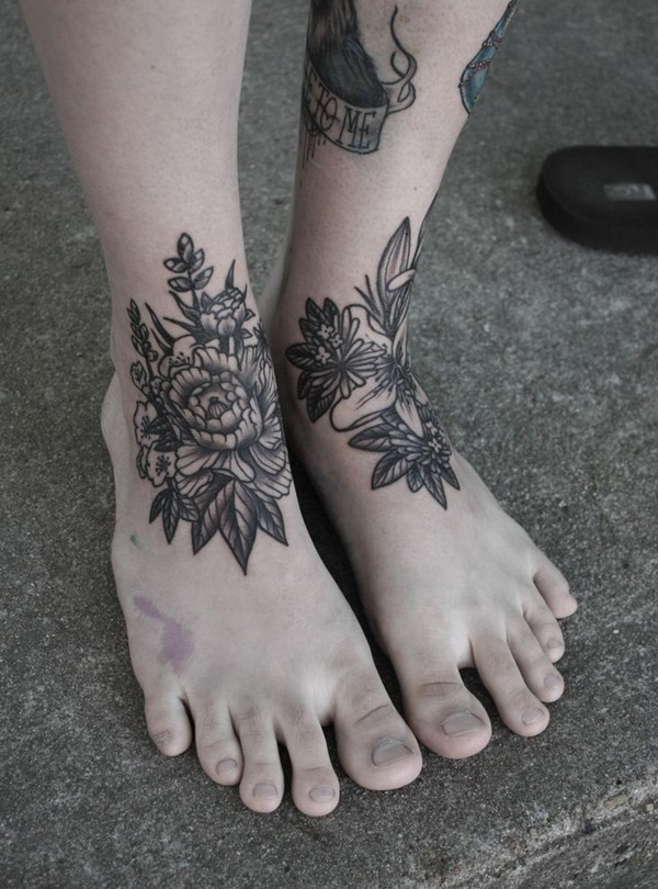 Best Foot Tattoo Designs and Ideas (20)