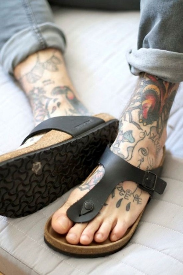 Best Foot Tattoo Designs and Ideas (22)