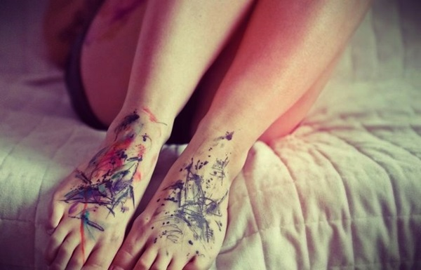 Best Foot Tattoo Designs and Ideas (24)