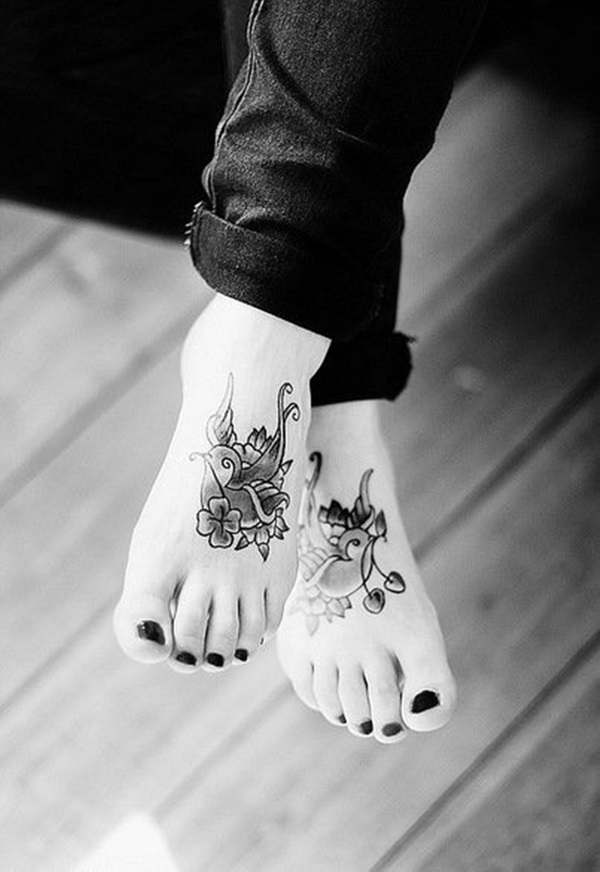 Best Foot Tattoo Designs and Ideas (25)