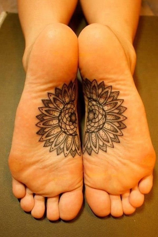 Best Foot Tattoo Designs and Ideas (38)