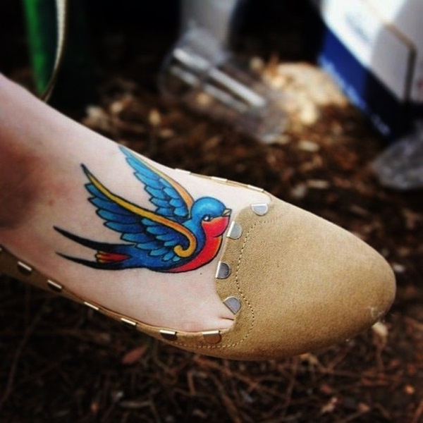 Best Foot Tattoo Designs and Ideas (44)