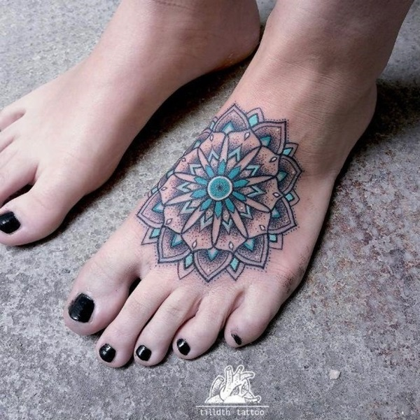 Best Foot Tattoo Designs and Ideas (5)