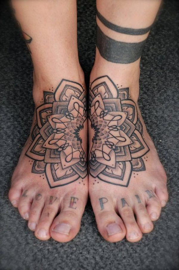 Best Foot Tattoo Designs and Ideas (51)