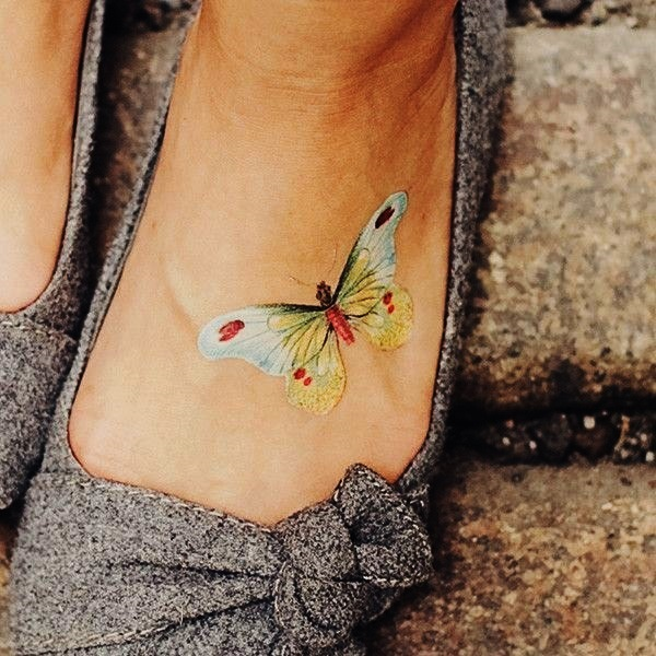 Best Foot Tattoo Designs and Ideas (54)