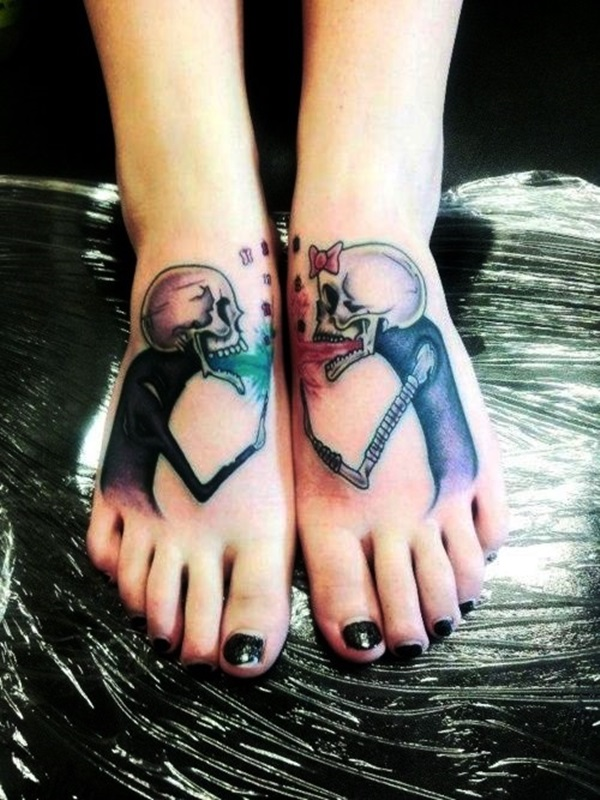 Best Foot Tattoo Designs and Ideas (55)