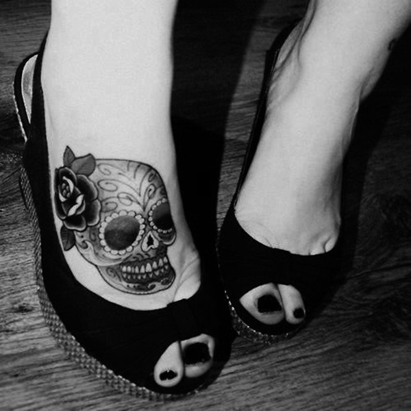 Best Foot Tattoo Designs and Ideas (58)