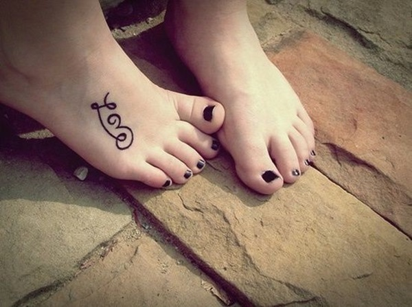 Best Foot Tattoo Designs and Ideas (59)