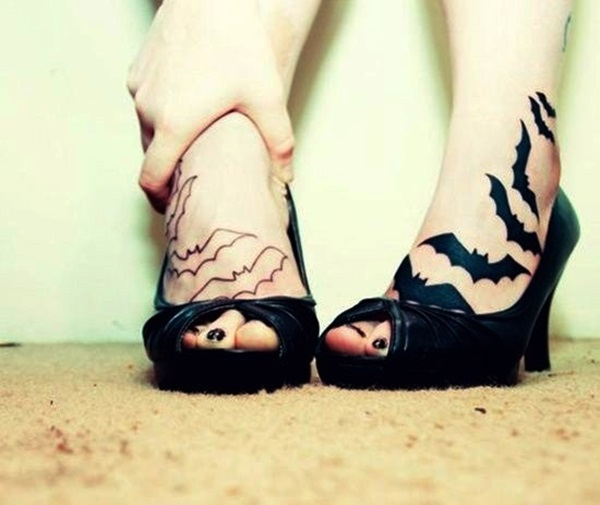 Best Foot Tattoo Designs and Ideas (61)