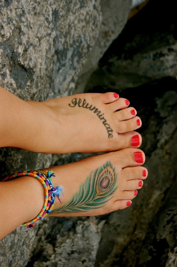Best Foot Tattoo Designs and Ideas (64)