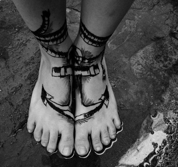 Best Foot Tattoo Designs and Ideas (68)