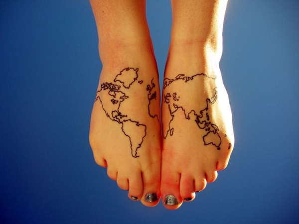 Best Foot Tattoo Designs and Ideas10
