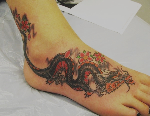 Best Foot Tattoo Designs and Ideas101
