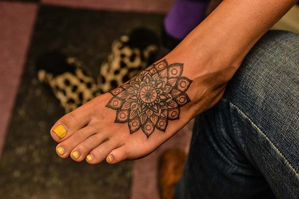 Best Foot Tattoo Designs and Ideas22