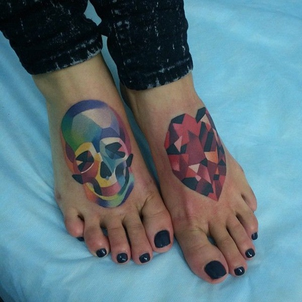 Best Foot Tattoo Designs and Ideas27