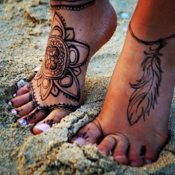 Best Foot Tattoo Designs and Ideas34